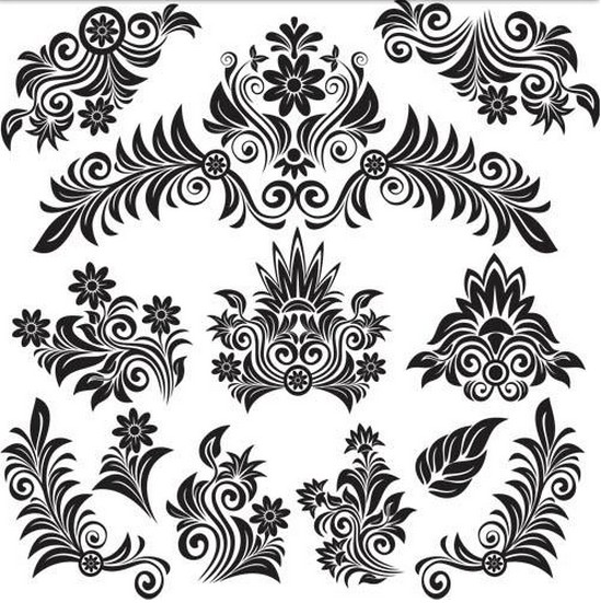 Free floral images download picture black and white stock Free floral images download - ClipartFest picture black and white stock