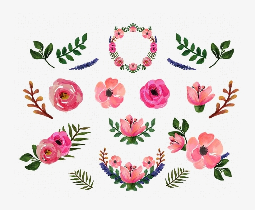 Free floral watercolor clipart clipart royalty free stock Should You Absolutely Love Wedding Planning A Person - Floral ... clipart royalty free stock