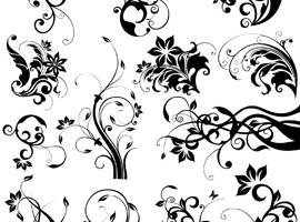 Free flower artwork graphic download Free Floral Vector Graphics - Page 3 graphic download