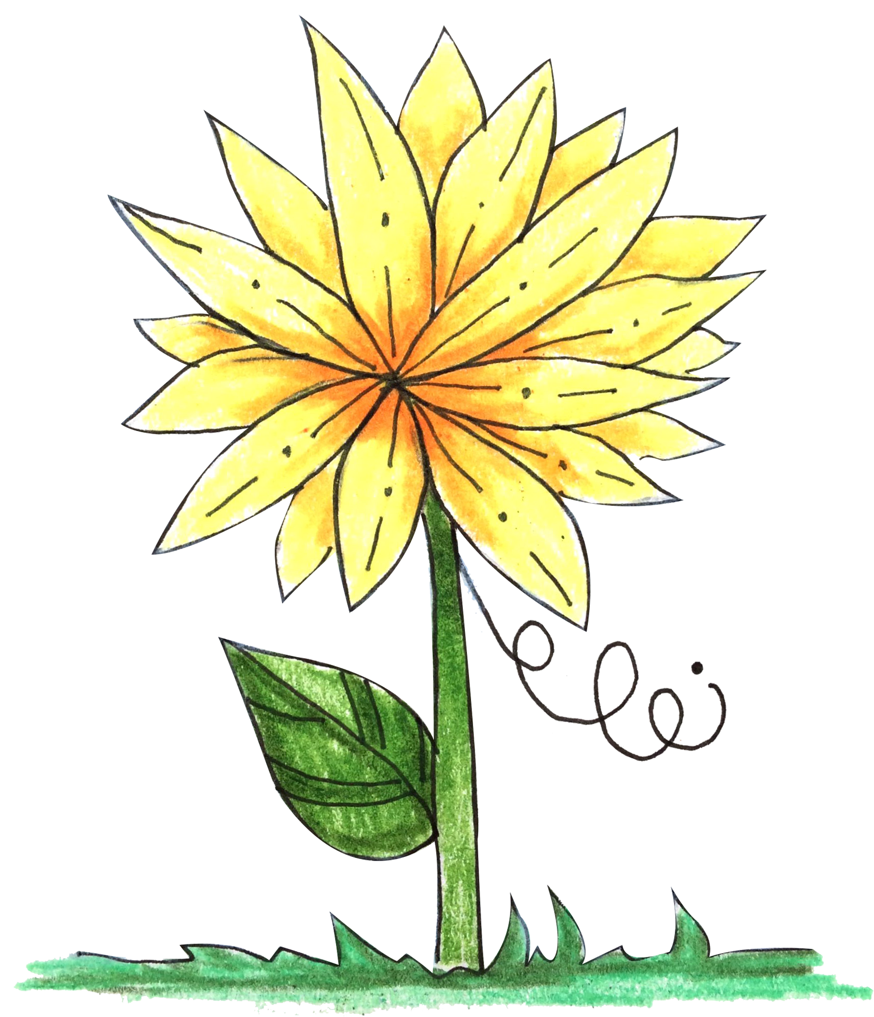 Free yellow download alt. Flower tag clipart