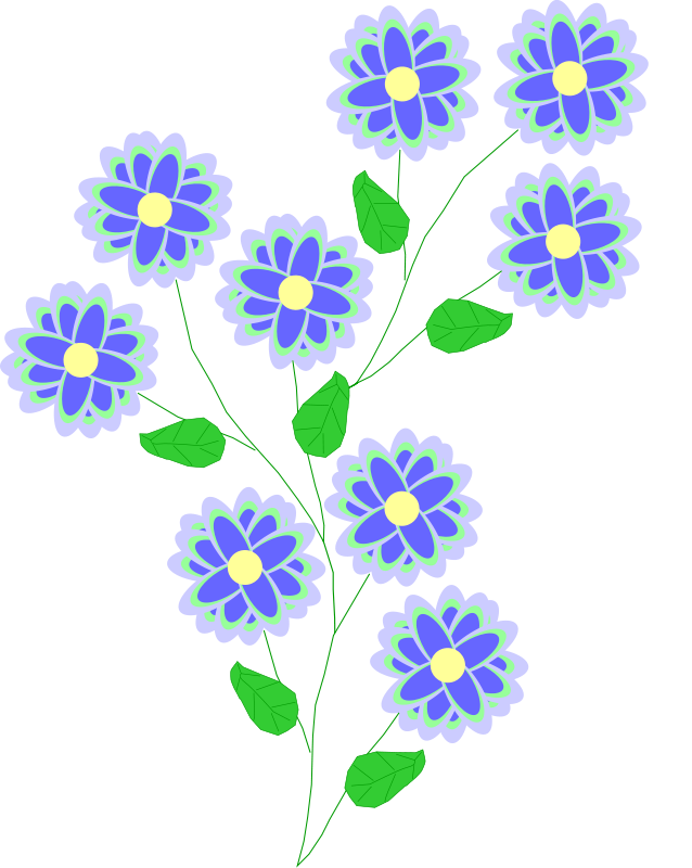 Free flower clipart png graphic freeuse stock Free Png Clipart & Png Clip Art Images - ClipartALL.com graphic freeuse stock