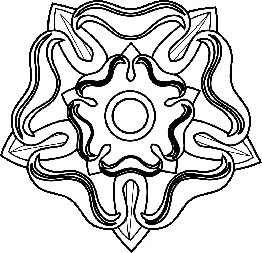 Free flower outline clipart vector Rose Clip Art Outline | Clipart Panda - Free Clipart Images vector