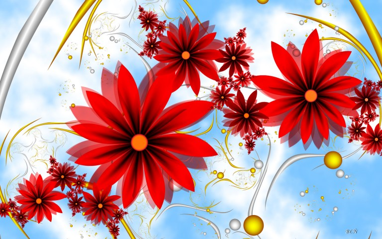 Free flower pics to download vector royalty free download Beautiful Red Flowers HD Wallpaper for desktop and mobile in high ... vector royalty free download