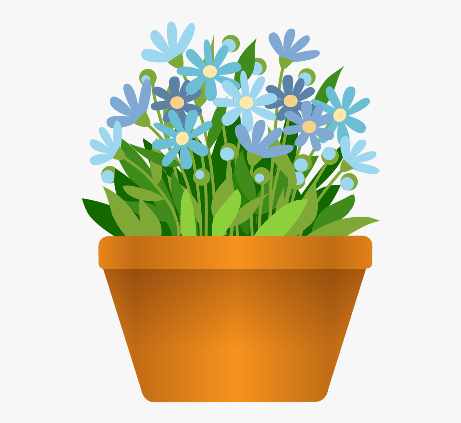 Plant pots clipart png library library 28 Collection Of Flower Pot Clipart Transparent - Flower Pot Clipart ... png library library