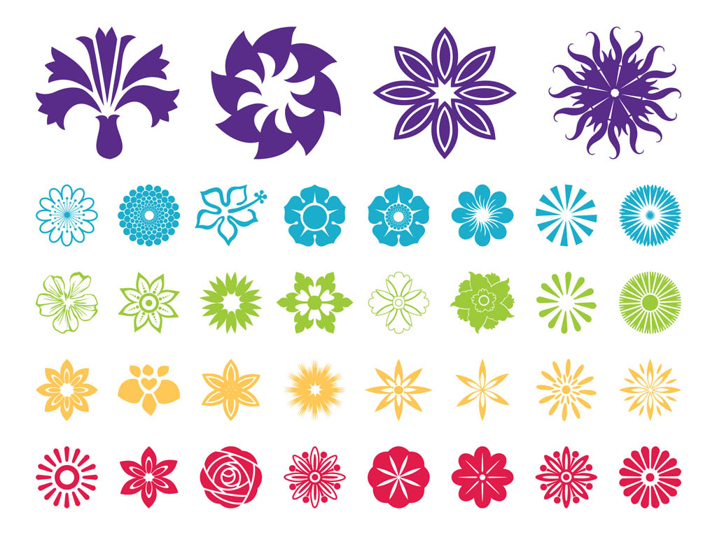 Free flowers graphics banner royalty free 15 Floral Sticker Vector Designs Images - Flower Graphic Floral ... banner royalty free