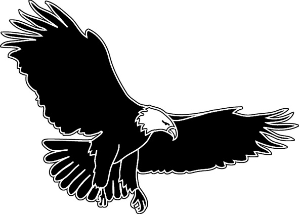 Free flying eagle clipart. Download png images pngio