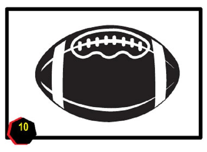Free football clipart frames. Clip art images gclipart