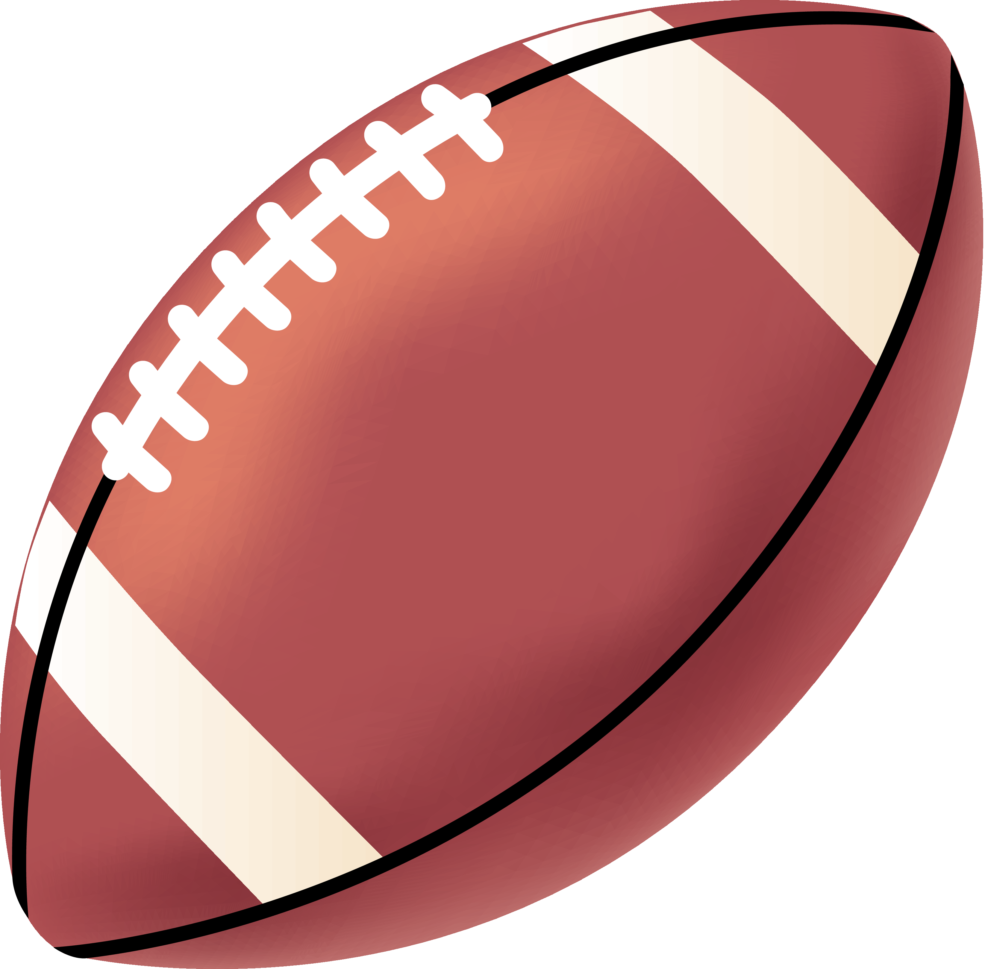 Youth football clipart free