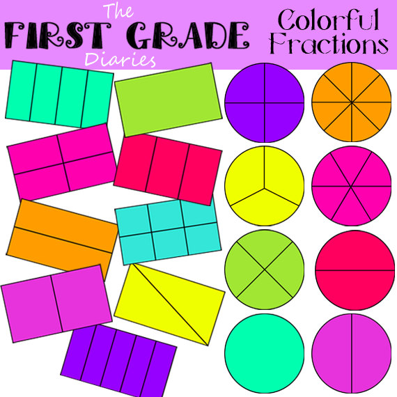 Rectangle cliparts download clip. Free fraction clipart for teachers