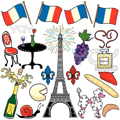 France clip art panda. Free french clipart images