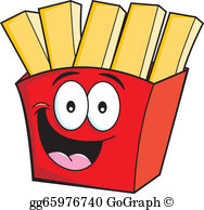 Fries clipart png transparent library French Fries Clip Art - Royalty Free - GoGraph png transparent library