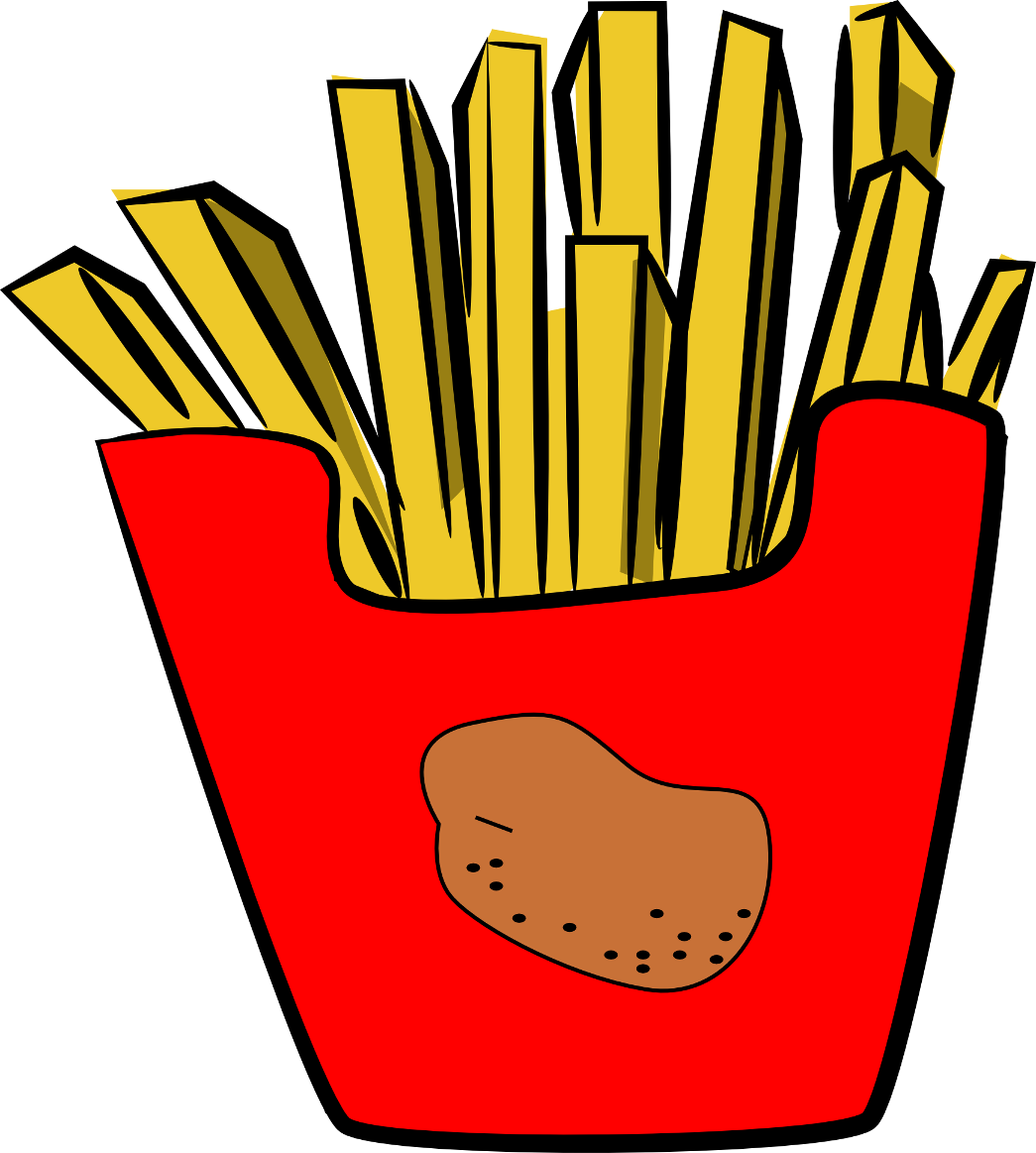 French fries pictures clipart black and white library Free Images Of French Fries, Download Free Clip Art, Free Clip Art ... black and white library