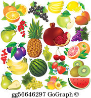 Free fruit clipart image library library Fruits Clip Art - Royalty Free - GoGraph image library library