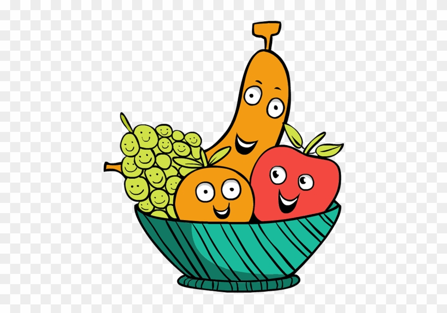 Free fruit clipart images picture freeuse stock Fruit Clipart Free - Fruit Basket Clip Art - Png Download (#73704 ... picture freeuse stock