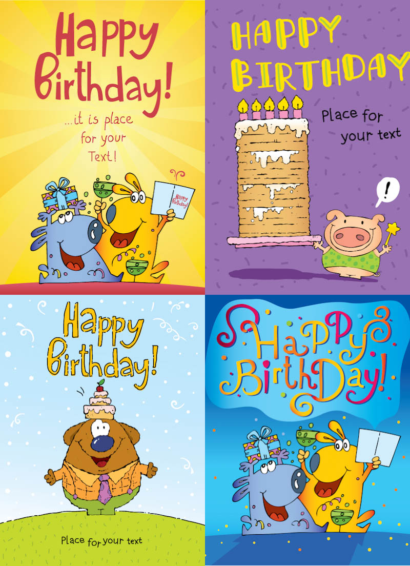Free funny birthday clipart images.  happy clip art