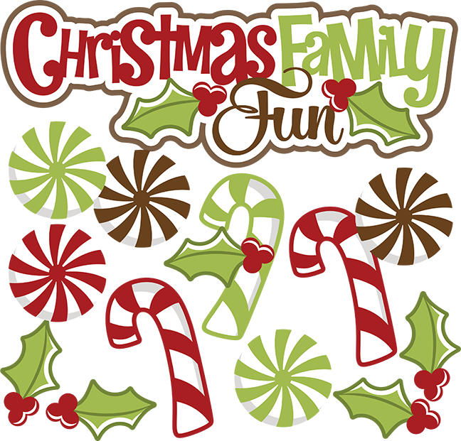 Free funny christmas clipart clipart transparent stock Christmas Family Fun SVG christmas svg file candy cane svg file svg ... clipart transparent stock