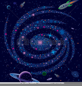 Free galaxy clipart. Images at clker com