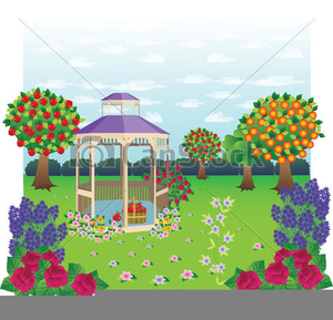 Free garden clipart images. Graphic at clker com