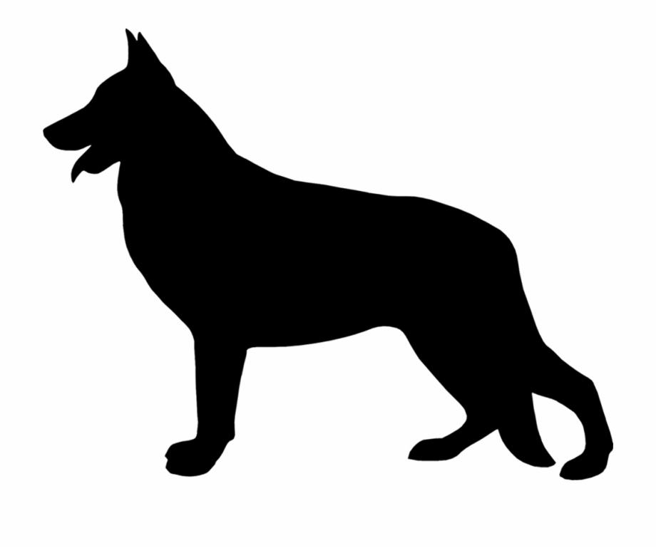 "Free german shepherd silhouette clipart clipart transparent download 7al-german Shepherd Silhouette 48"" Arc Umbrella That - German ... clipart transparent download"