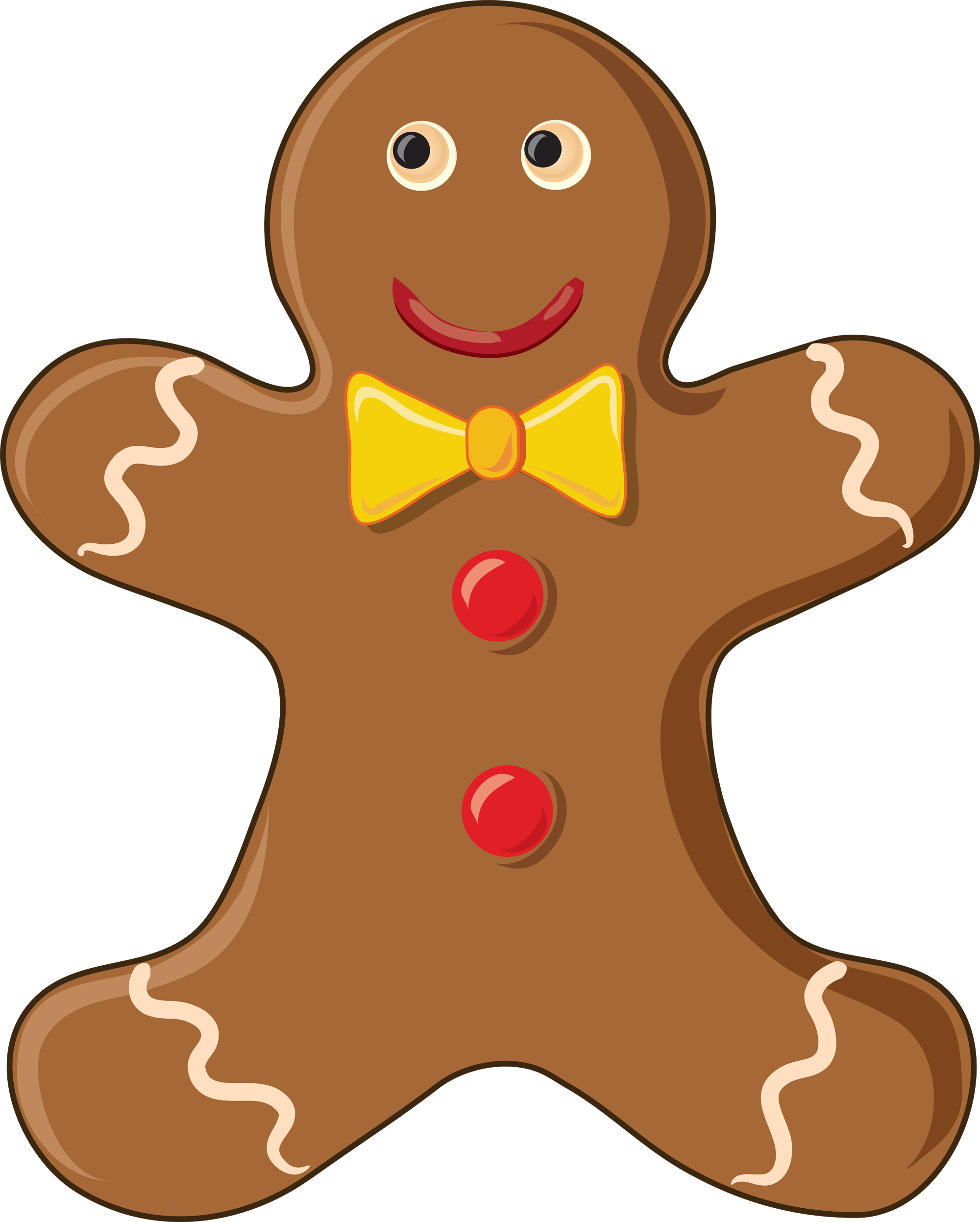 Free gingerbread men clipart library Free Gingerbread Man, Download Free Clip Art, Free Clip Art on ... library