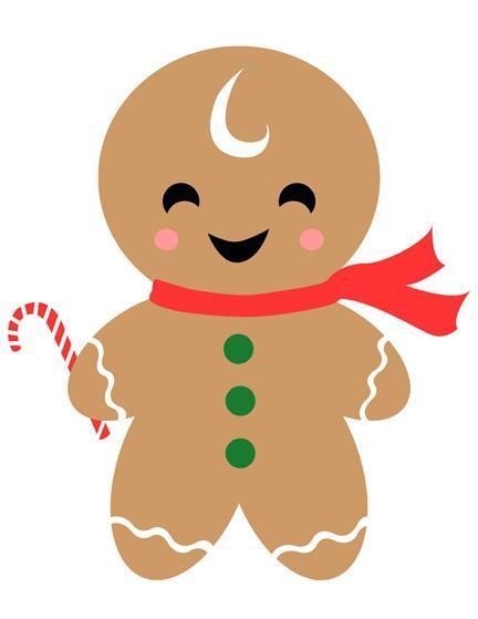 Free gingerbread men clipart clip library library Christmas gingerbread man clip art image - Cliparting.com clip library library