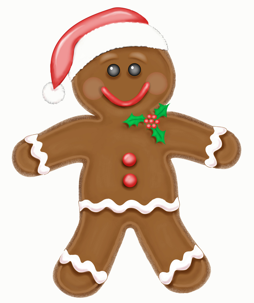 Gingerbread free clipart royalty free library Best Gingerbread Man Clipart #9070 - Clipartion.com royalty free library