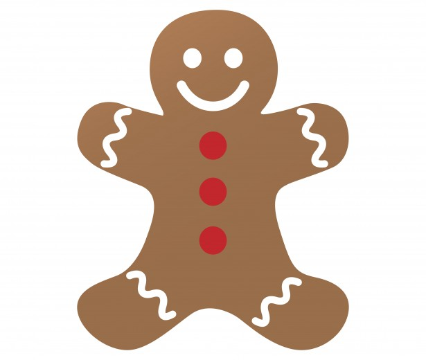 Free gingerbread men clipart graphic library library Gingerbread Man Clipart Free Stock Photo - Public Domain Pictures graphic library library