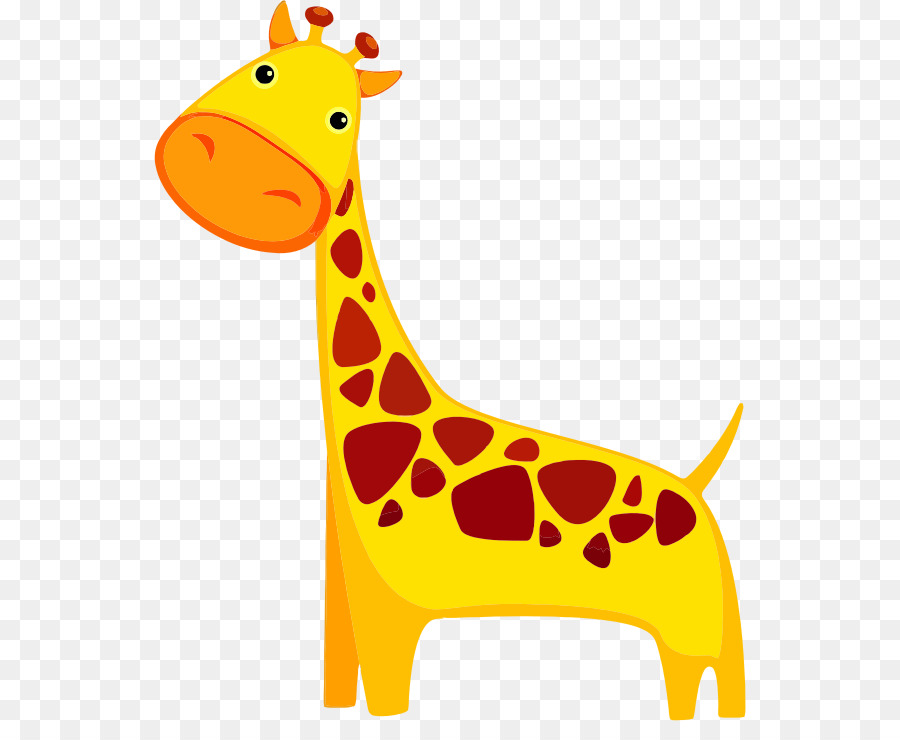 Free giraffe cartoon clipart image library stock Giraffe Cartoon png download - 592*721 - Free Transparent Giraffe ... image library stock