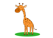 Clip art pictures graphics. Free giraffe clipart