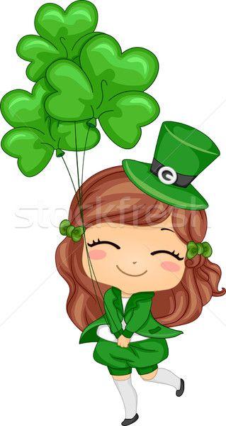 Free girl leprechaun clipart graphic library clover #lucky #love #luck #hope #faith #peace #flower | clover lucky ... graphic library