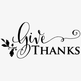 Free give thanks clipart clip library download Thanksgiving Clipart Give Thanks - Give Thanks Clipart Black And ... clip library download