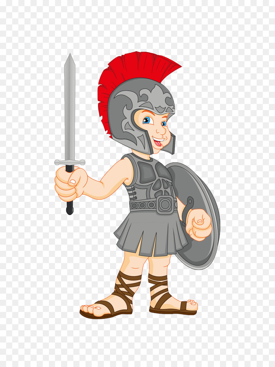 Army cartoon png download. Free gladiator clipart