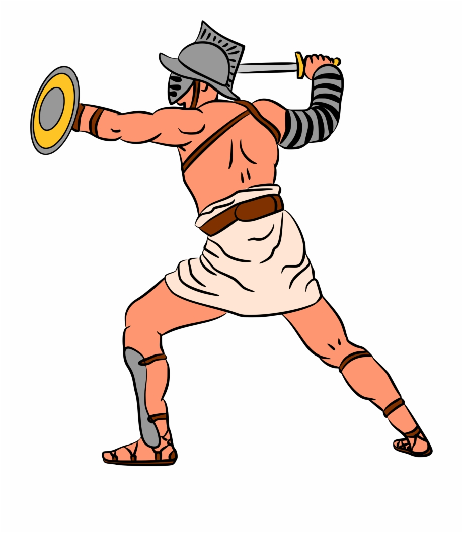 Free gladiator clipart jpg transparent stock Image Royalty Free Library Ancient Gladiator Cartoon - Gladiators ... jpg transparent stock