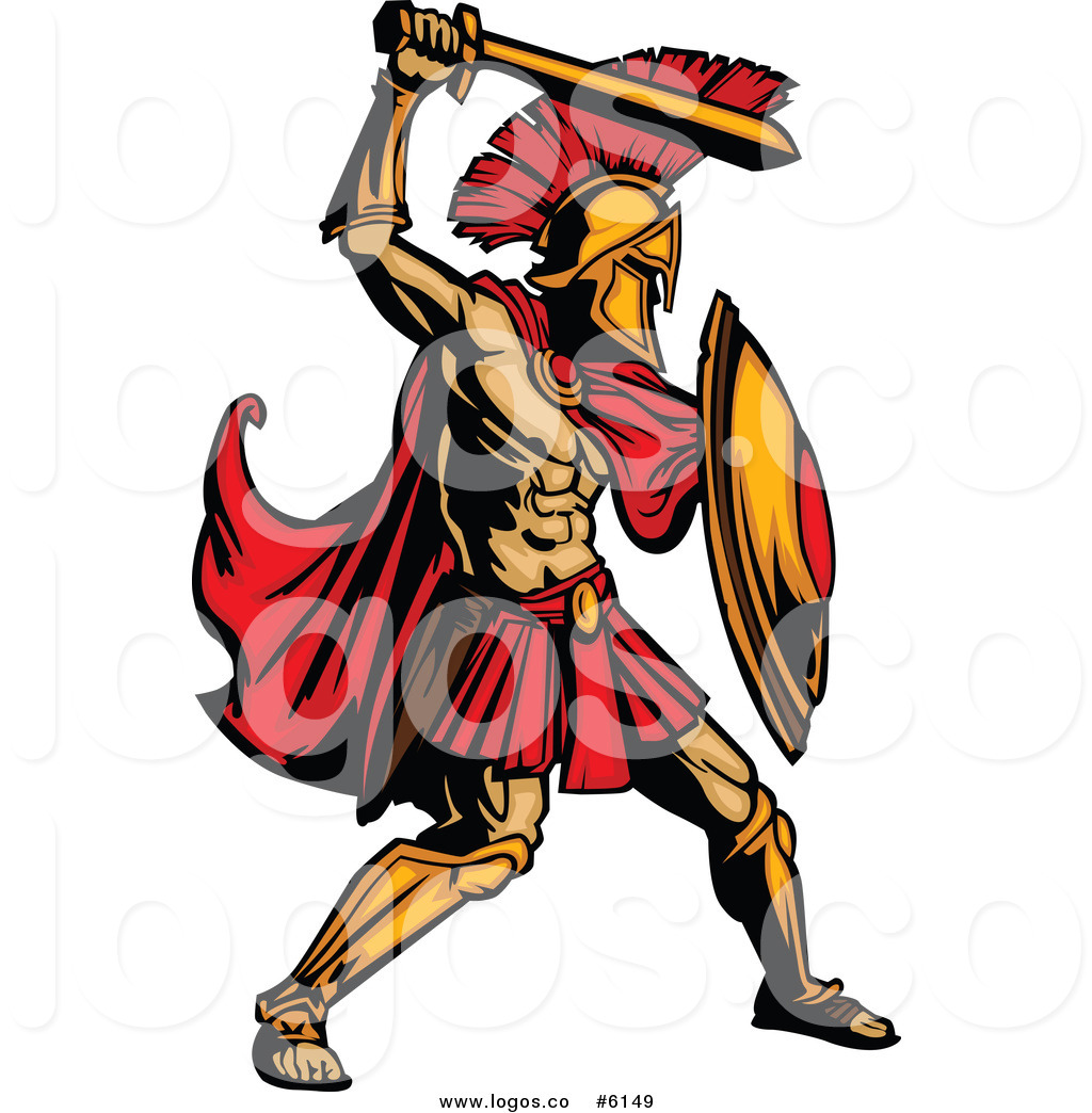 Warror with sword killing clipart image black and white stock Gladiators Clipart | Free download best Gladiators Clipart on ... image black and white stock