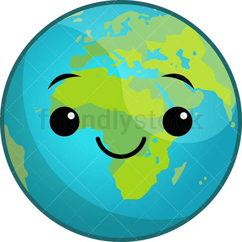 Free god touches planet earth in space clipart clipart freeuse Kawaii Planet Earth | For the Home | Space illustration, Earth ... clipart freeuse