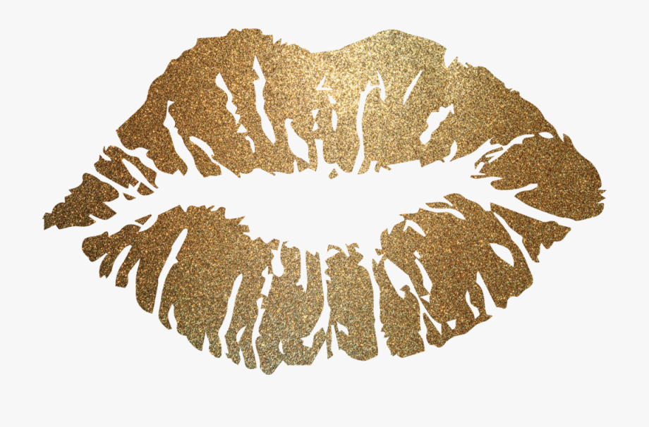 Free gold lips clipart banner free library Gold Lips Png #2340068 - Free Cliparts on ClipartWiki banner free library
