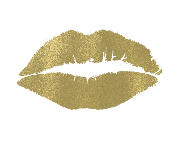 Free gold lips clipart image free library Gold lips clipart clipart images gallery for free download | MyReal image free library