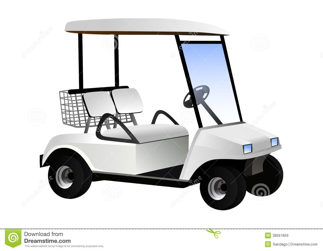 Free golf cart clipart images banner black and white library Free golf cart clipart 7 » Clipart Station banner black and white library