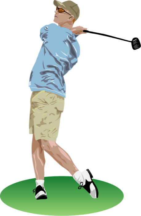 Happy birthday clipart for the golfer vector royalty free download Free golf graphics clip art clipart images gallery for free download ... vector royalty free download