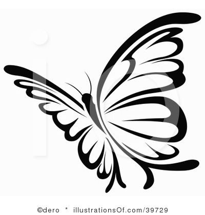 Free google butterfly clipart png black and white stock Free Butterfly Clip Art Graphics | Clipart Panda - Free Clipart ... png black and white stock