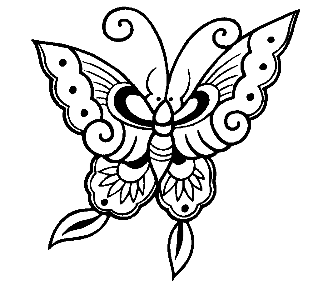 Free google butterfly clipart picture royalty free Clip Art Black And White Butterfly - ClipArt Best picture royalty free