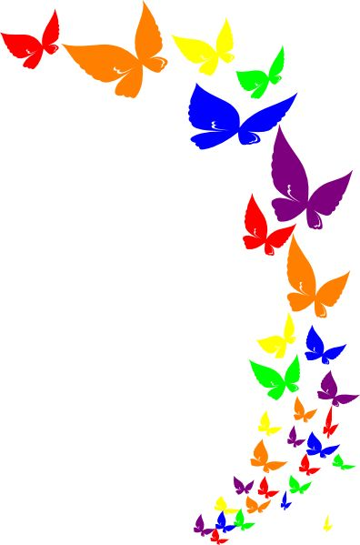 Free google butterfly clipart clipart library rainbow butterfly | rainbow butterfly clip art | kids stuff ... clipart library