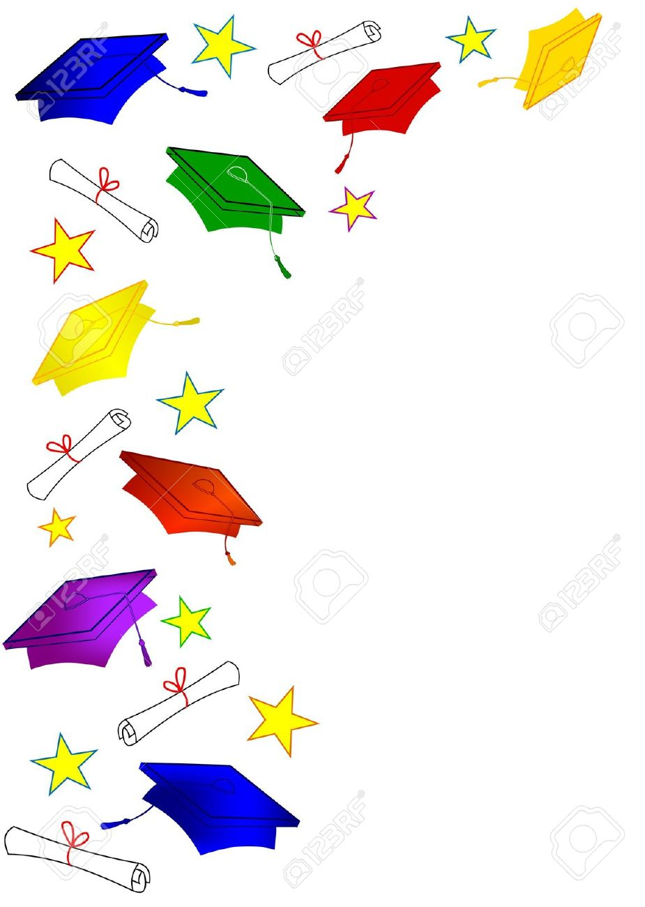 Graduation borders clipart free download Best Graduation Border #11933 - Clipartion.com free download