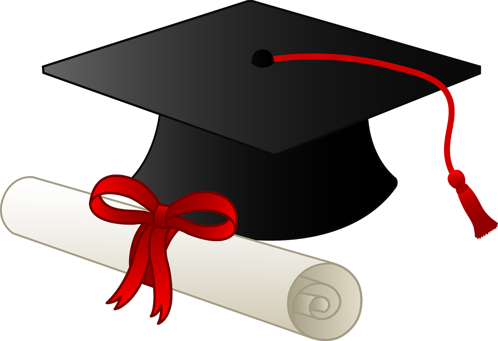 Free graduation clipart 2018 image transparent library High school diploma clip royalty free stock png files, Free CLip Art ... image transparent library