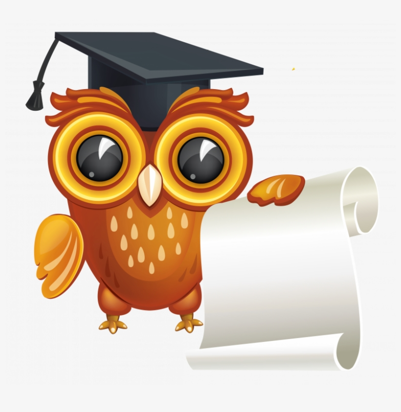 Free graduation owl clipart svg library stock Graduation Owl Clipart Png - Free Transparent PNG Download - PNGkey svg library stock