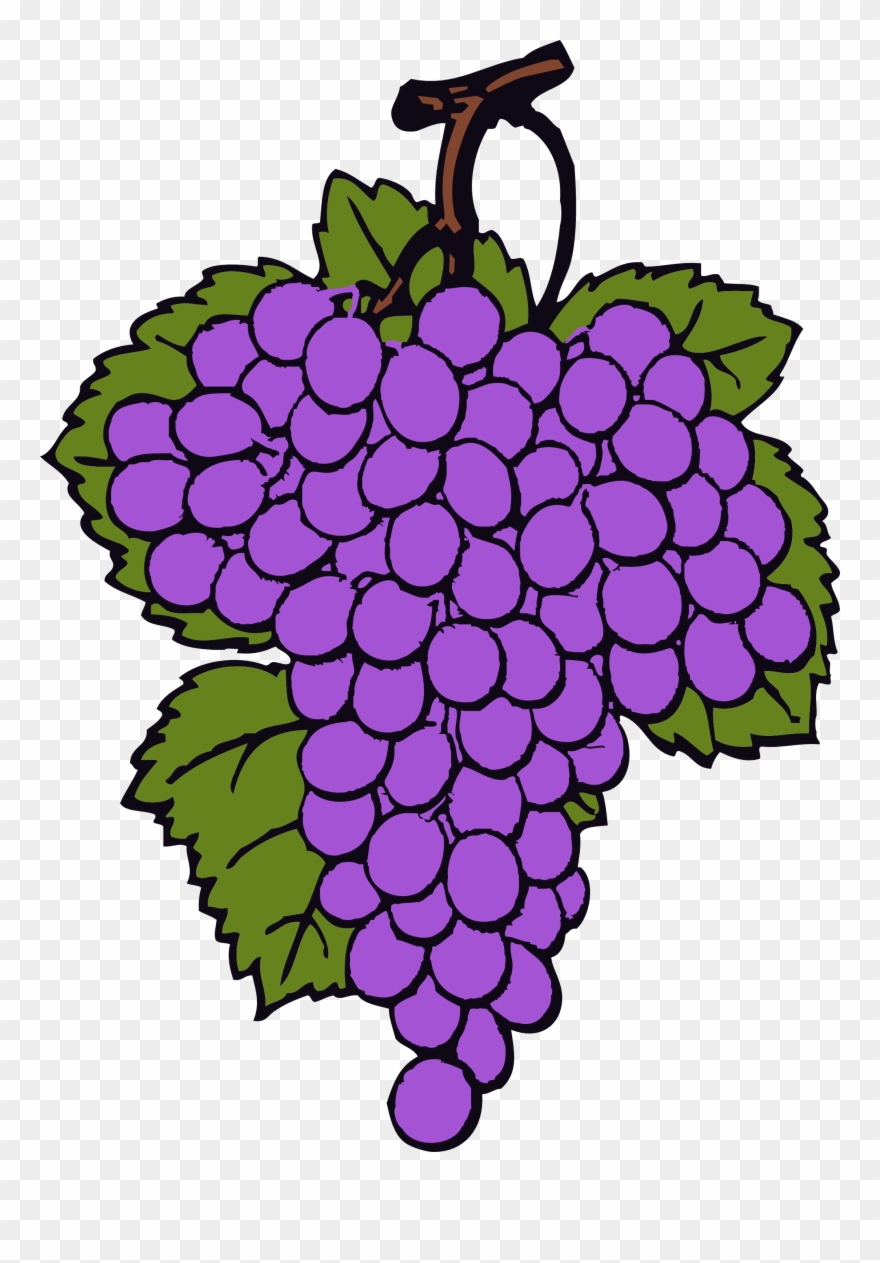Free grapes clipart jpg royalty free stock Grape Clipart, Vector Clip Art Online, Royalty Free - Grapes ... jpg royalty free stock