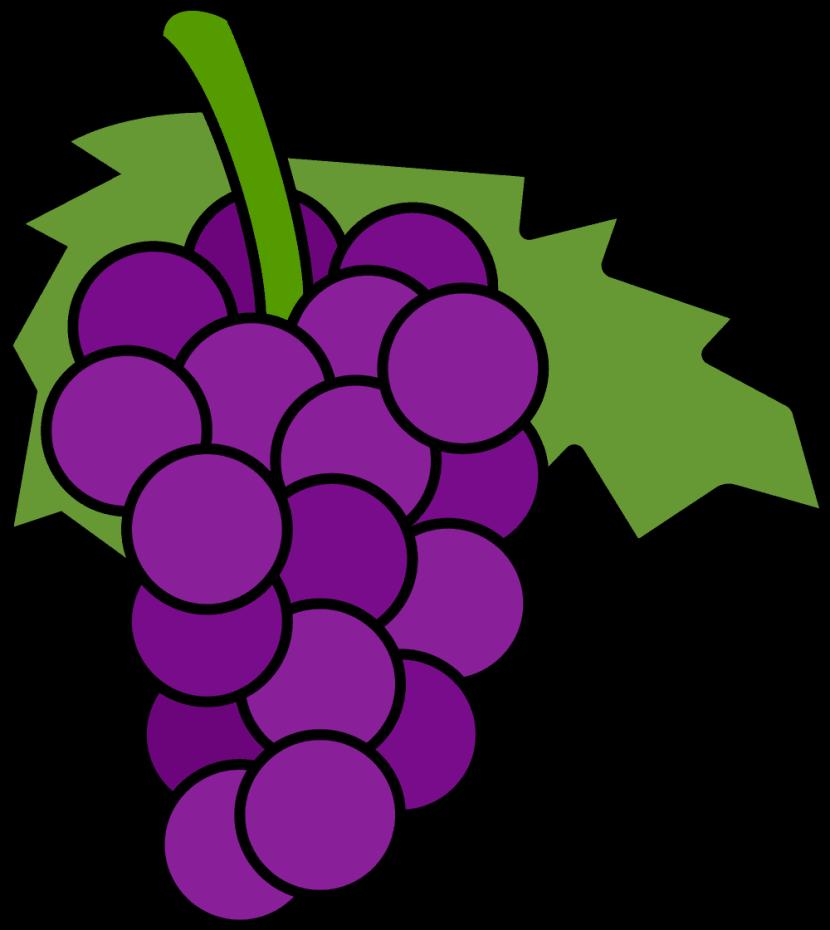 Free grapes clipart. Fruits png transparent images