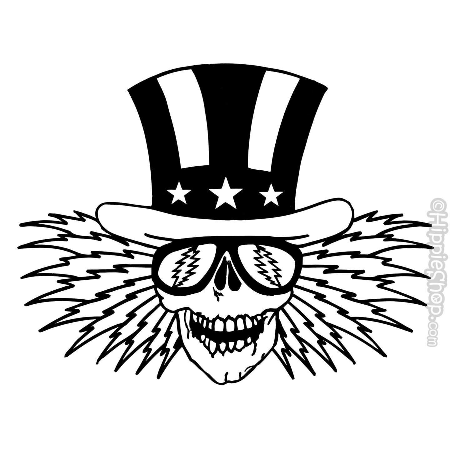 Free grateful dead clipart picture black and white download Coloring Pages : Amazing Grateful Bearsing Pages Image Inspirations ... picture black and white download