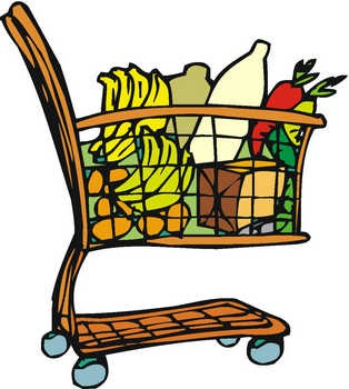 Clipart groceries vector library Free Free Grocery Cliparts, Download Free Clip Art, Free Clip Art on ... vector library