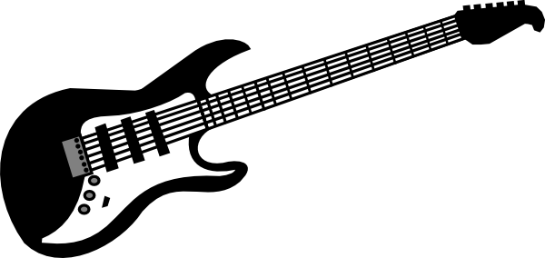 Free guitar clipart images graphic stock Guitar Clip Art at Clker.com - vector clip art online, royalty ... graphic stock